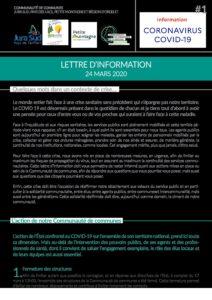 #1 Lettre d'Infos